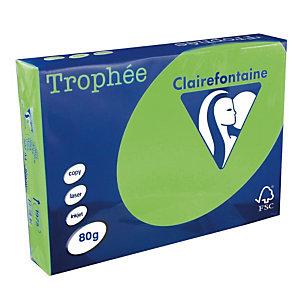 5 ramettes papier Clairefontaine Trophée vert menthe A4 80 g