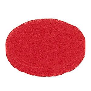 5 rode schijven voor mini-monoborstel