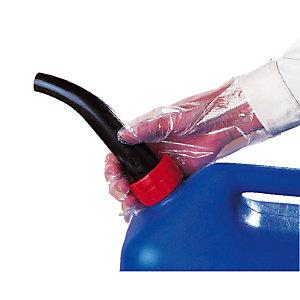 5 sachets de 100 gants à usage unique en polyéthtylène, taille unique