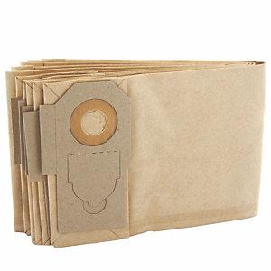5 sacs papier pour aspirateur dorsal GD 5 Back