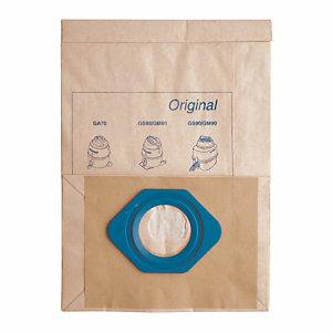 5 sacs papier pour aspirateur Nilfisk GM 80 9 L