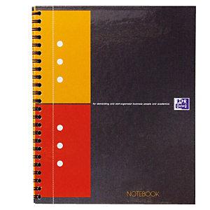 5 schriften Notebook  160 pagina's 5 x 5 Oxford International kleur grijs, per set