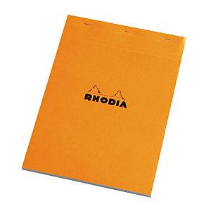 5 vastgeniete blokken Rhodia A4 niet-geperforeerd los model liniëring 5 x 5