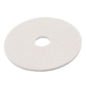 5 witte polijstschijven Bernard diam. 432 mm