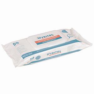 50 lingettes nettoyantes et désinfectantes multi-usages essence de Niaouli