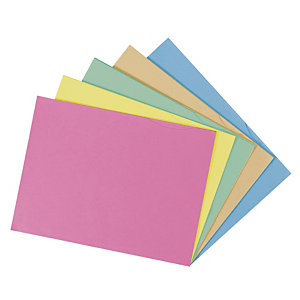 50 mappen met 2 kleppen SUPER 250 geassorteerde kleuren