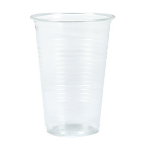 500 doorschijnende plastic bekers 20 cl