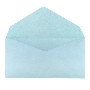 500 enveloppes élections GPV 90 x 140 mm papier recyclé velin 75 g coloris bleu