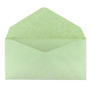 500 enveloppes élections GPV 90 x 140 mm papier recyclé velin 75 g coloris vert