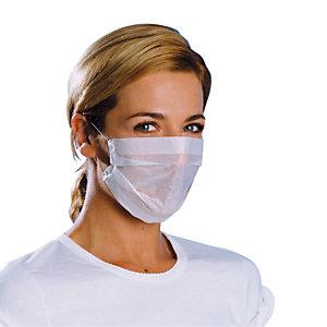 500 masques d'hygiène en papier 1 pli, usage unique