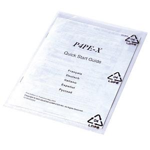 500 sachets plastique multi-usages 100 microns, 15 x 25 cm