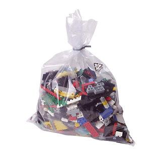 500 sachets plastique multi-usages 100 microns, 30 x 48 cm
