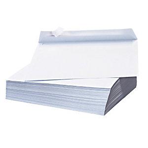 500 witte C5 enveloppen La Couronne met beschermstrip 162 x 229 mm zonder venster velijn 80 g
