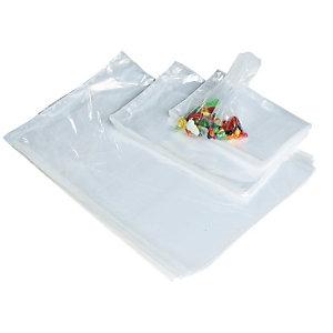 5000 sachets plastique liasses épaisseur 9 microns, 23 x 31 cm