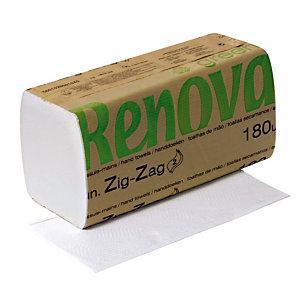 5400 essuie-mains pliés enchevêtrés Renova Green