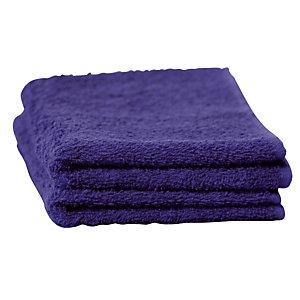 6 badhanddoeken marine 30 x 54 cm