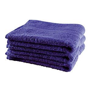 6 badhanddoeken marine 50 x 90 cm