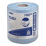 6 bobines bleues d'essuyage à dévidage central Wypall L20, 400 formats