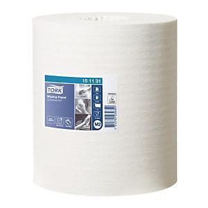 6 bobines Tork papier d'essuyage à dévidage central 1 épaisseur