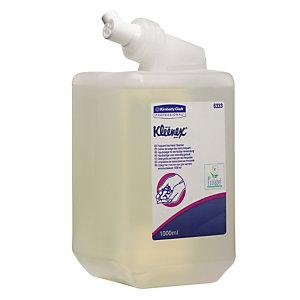 6 cartouches crème de lavage usages fréquents Kleenex  1 L