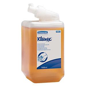 6 cartouches de crème lavante mains Kleenex Ultra 1 L