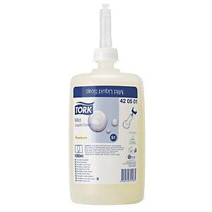6 cartouches de savon liquide Tork Premium doux 1 L