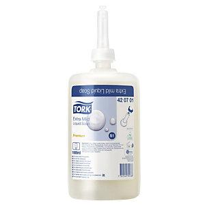 6 cartouches de savon liquide Tork Premium extra doux 1 L