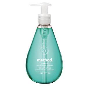 6 flessen handwascrème Ecover Waterval, 350 ml