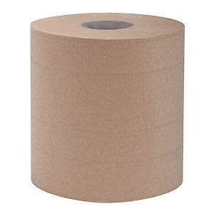 6 handdoekrollen met centrale afrolling L-One Eco Natural, 450 vellen