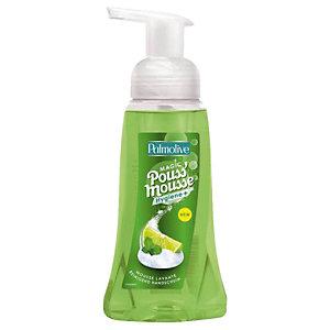 6 Magic Pouss'Mousse Palmolive parfum citron/menthe, flacon de 250 ml
