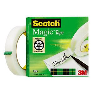 6 onzichtbare plakbanden Magic Scotch® 19 mm x 66 m