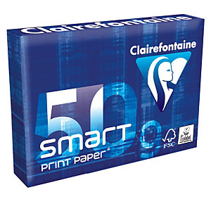 6 papierpakken Clairefontaine Smart Print Paper A4 50g