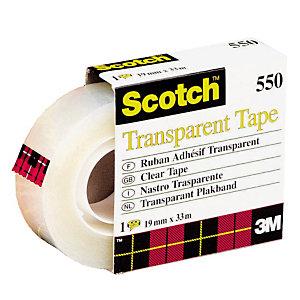 6 rubans adhésifs transparents Scotch® 19 mm x 33 m