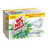 6 sachets de poudre Wc Net Energy avec javel