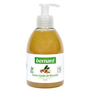 6 savons liquides de Marseille Bernard parfum amande 300 ml