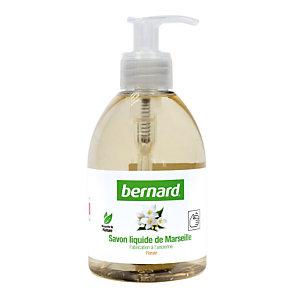6 savons liquides de Marseille Bernard parfum floral 300 ml