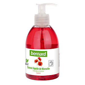 6 vloeibare Marseillezepen Bernard 300 ml Klaproos