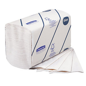 620 essuie-mains pliés enchevêtrés Kleenex Airflex Ultra