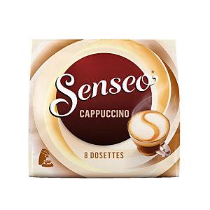 8 dosettes Senseo®Cappuccino
