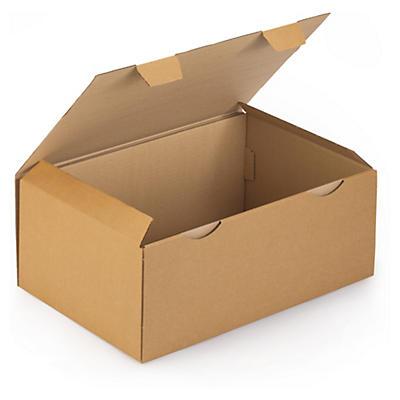 A3-lådor - Rajapost - Bruna stansade lådor
