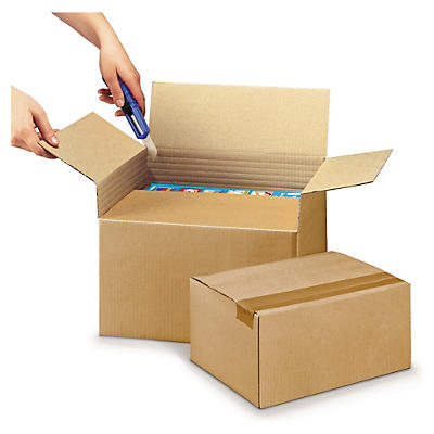 A3 single wall adjustable cardboard boxes