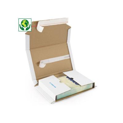 A5-format - Multiwell hvite selvklebende omslag