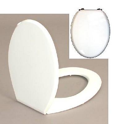 Abattant WC bois laqué