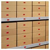 Ablösbare farbige Papier-Etiketten