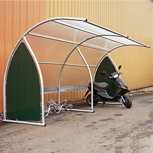 Abri à vélos et motos élément de départ