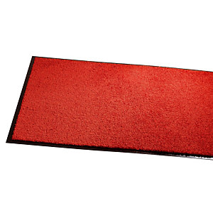 Absorberende onthaaltapijt Wash & Clean 0,60 x 0,90 m donkerrood