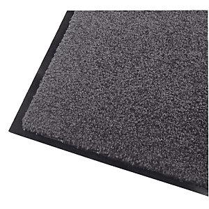Absorberende onthaaltapijt Wash & Clean 0,90 x 1,20 m grijs