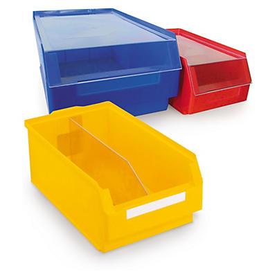 Accessoires pour bac à bec couleur##Deksel en lengteverdeler gekleurde magazijnbak