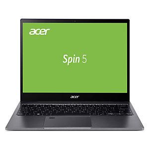 """Acer Spin 5 SP513-54N-53K4, 10e génération de processeurs Intel® Core™ i5, 1,1 GHz, 34,3 cm (13.5""""), 2256 x 1504 pixels, 8 Go, 512 Go NX.HQUEF.003"""