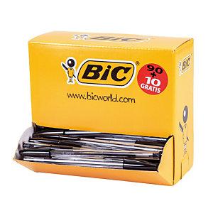 ack 90 + 10 balpennen Bic® Cristal Medium Zwart